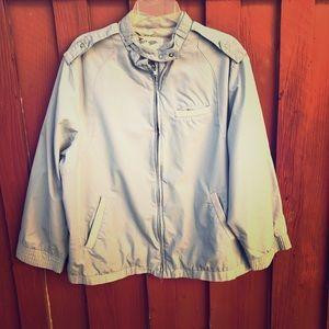 Vintage 80s women's windbreaker jacket large